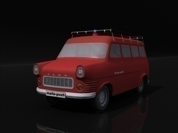 ford transit_fire engine 3d model 3ds max obj 108415