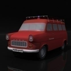 Ford Transit_Fire Engine ( 38.59KB jpg by DropAssets )