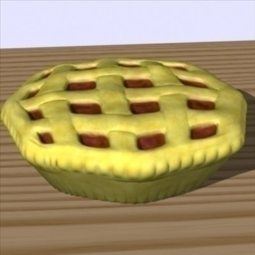 fresh pie 3d model fbx lwo other obj 98697