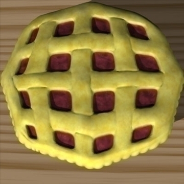fresh pie 3d model fbx lwo other obj 98698