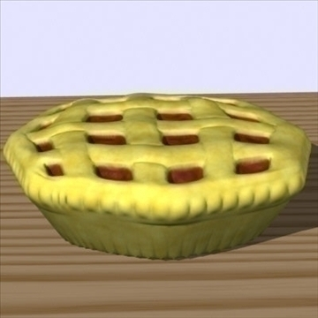 fresh pie 3d model fbx lwo other obj 98699
