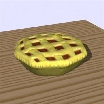 fresh pie 3d model fbx lwo other obj 98700
