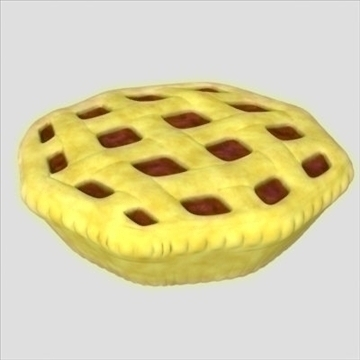 fresh pie 3d model fbx lwo other obj 98704