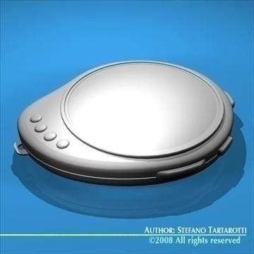 future chronometer 3d model 3ds dxf c4d obj 89676