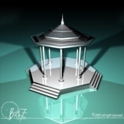 Gazebo ( 65.63KB jpg by braz )