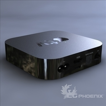 gen3 apple tv 3d model 3ds dxf fbx c4d x  obj 107122