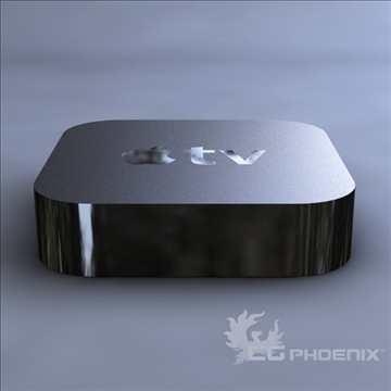 gen3 apple tv 3d model 3ds dxf fbx c4d x  obj 107123