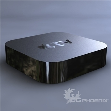 gen3 apple tv 3d model 3ds dxf fbx c4d x  obj 107124