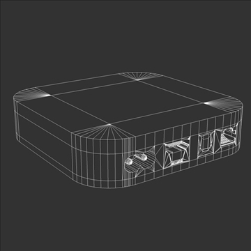 gen3 apple tv 3d model 3ds dxf fbx c4d x  obj 107126