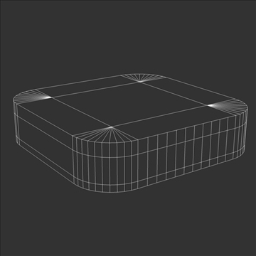 gen3 apple tv 3d model 3ds dxf fbx c4d x  obj 107127