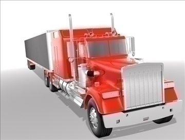 generic highway truck 3d model max 90342
