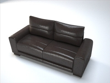 generic sofa 1 3d model obj 97248