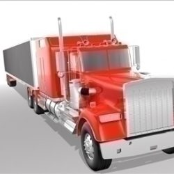 Generic highway truck ( 50.8KB jpg by Redcapnyc )