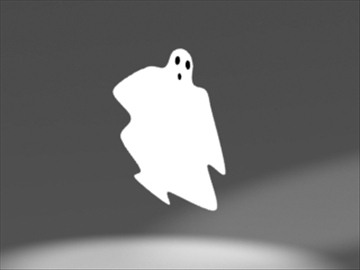 ghost ornament 3d model 3ds dxf lwo 81002