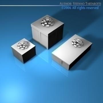 бэлэг хайрцаг цуглуулах 3d загвар 3ds dxf c4d obj 78454