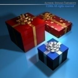 Gift boxes ( 54.67KB jpg by tartino )