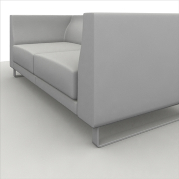 ginevra 2 pillow 3d model 3ds max obj 80298