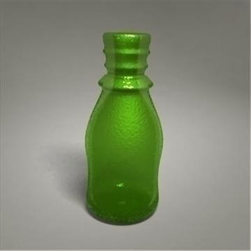 glass bottle 3d model 3ds max fbx obj 108015