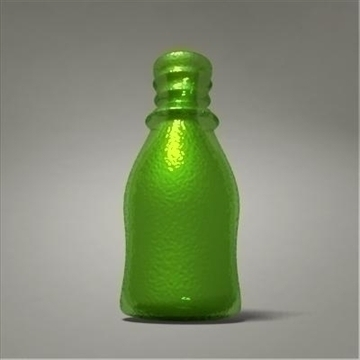 glass bottle 3d model 3ds max fbx obj 108016