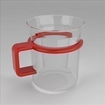 Glass Cup - FlatPyramid