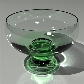 glass green mental ray 3d model max 80146