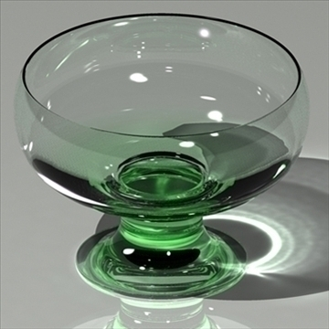 glass green mental ray 3d model max 80147