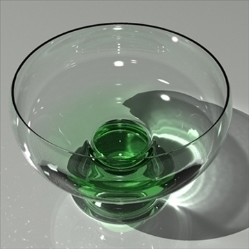 glass green mental ray 3d model max 80148