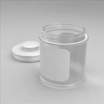 glass jar 3d model 3dm other obj 100551