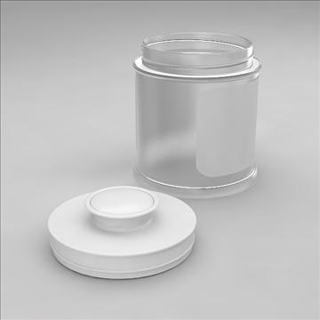 glass jar 3d model 3dm other obj 100552