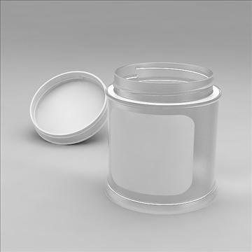glass jar 3d model 3dm other obj 100553