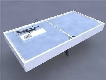 glass table 3d model ma mb obj 82912
