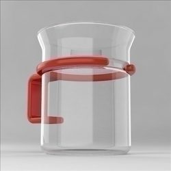 Glass Cup ( 40.46KB jpg by 3DGL )