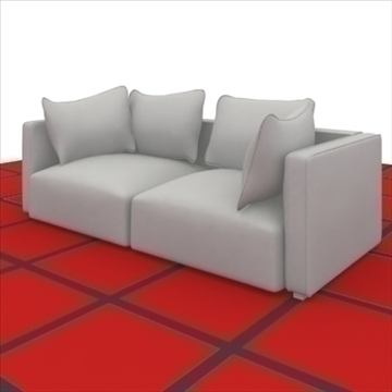 world_sofa _2_pillows 3d model 3ds max obj 80323