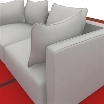 cruinne_sofa _2_pillows 3d model 3ds max obj 80324