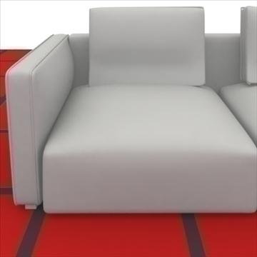 cruinne_sofa _2_pillows 3d model 3ds max obj 80329