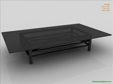 great coffee table 3d model 3ds max fbx obj 106447