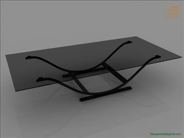 great low poly coffee table 3d model 3ds max fbx obj 106450