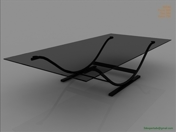 great low poly coffee table 3d model 3ds max fbx obj 106451