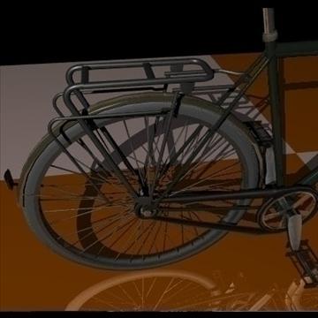 green bike 3d model 3ds 97366