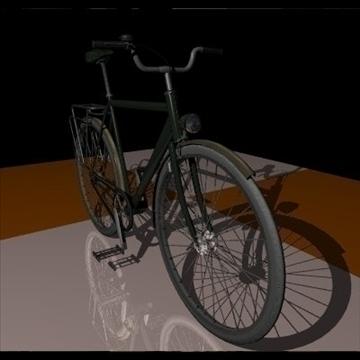 green bike 3d model 3ds 97368