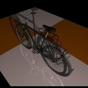 green bike 3d model 3ds 97369