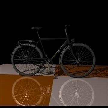 green bike 3d model 3ds 97370
