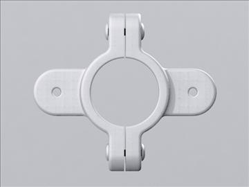 hardware clamp 3d model 3ds max wrl wrz obj 109061