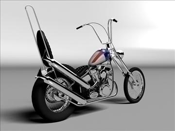 harley davidson easy rider 1969 3d model 3ds max c4d obj 101292