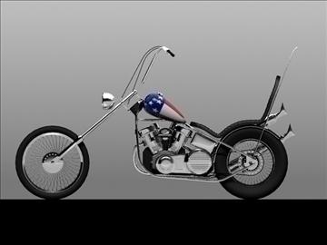 harley davidson easy rider 1969 3d model 3ds max c4d obj 101293