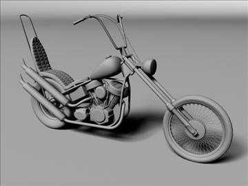 harley davidson easy rider 1969 3d model 3ds max c4d obj 101296