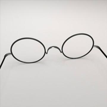 harry potter glasses.zip 3d model 3ds dxf fbx c4d obj 83715