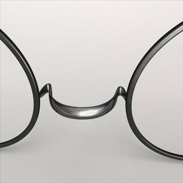 harry potter glasses.zip 3d model 3ds dxf fbx c4d obj 83716