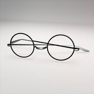 harry potter glasses.zip 3d model 3ds dxf fbx c4d obj 83717