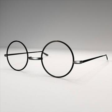harry potter glasses.zip 3d model 3ds dxf fbx c4d obj 83718